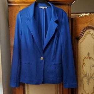 NY collection blue blazer